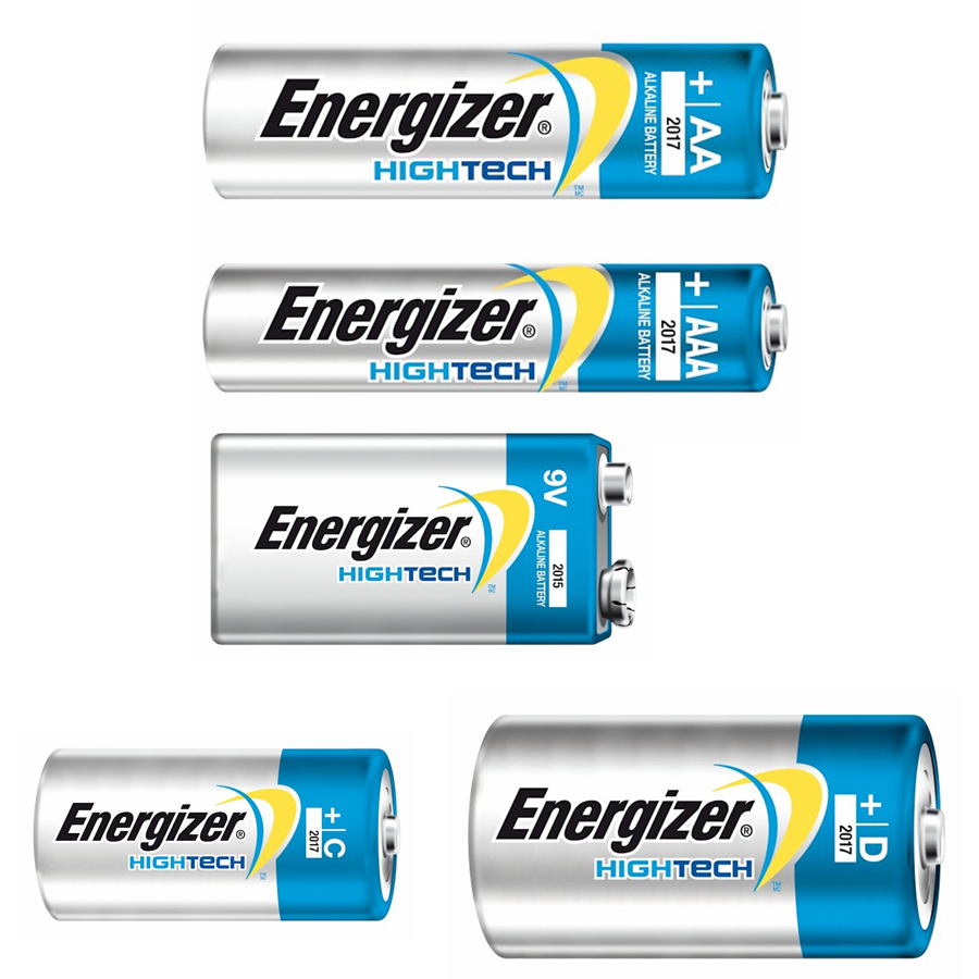 Alkalisk batteri, High Tech - Energizer